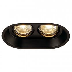 SLV Horn 2 113110 2x GU10 Noir